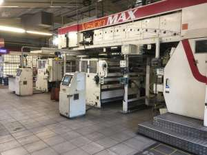 PCMC 8 colour CI flexo press